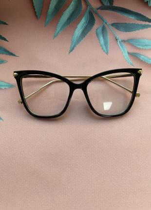 Компьютерные очки имиджевые оправа