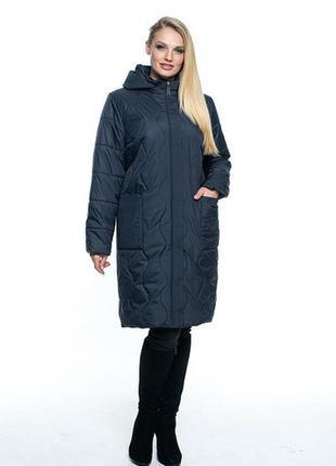 Женская куртка большие размеры с 52 по 70