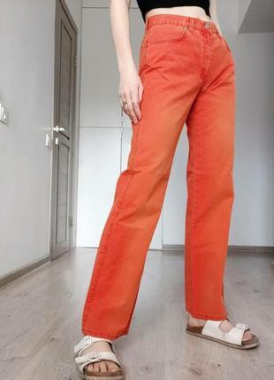 Новые яркие прямые джинсы big rey jeans