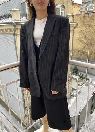 Вінтажний шерстяний піджак tommy hilfiger
