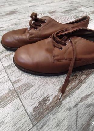 Кожаные туфли, англия, 42
