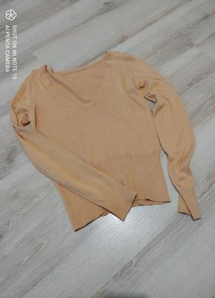 Пуловер шелк+хлопок