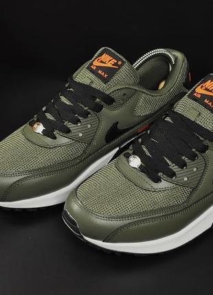 Мужские кроссовки nike air max 90 khaki5 фото
