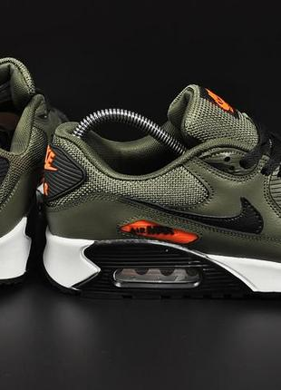 Мужские кроссовки nike air max 90 khaki4 фото