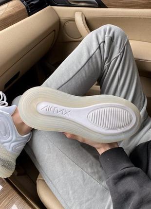 Шикарные кроссовки nike air max 720  white8 фото