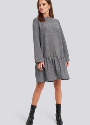 Плаття з люрексом фірма na-kd1 фото
