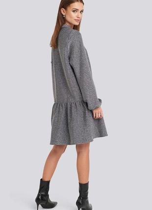 Плаття з люрексом фірма na-kd3 фото