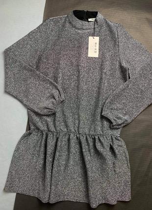 Плаття з люрексом фірма na-kd4 фото