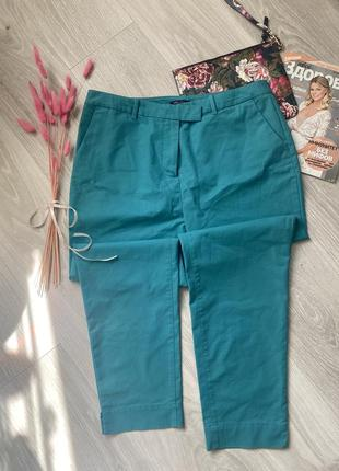 Укорочённые штаны брюки чиносы marks & spenser