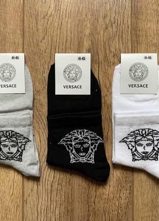 Мужские носки versace 41-45 средние