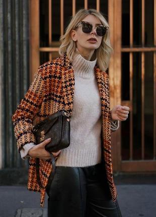 Hm классное пальто трендовый цвет и фасон