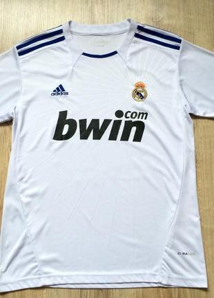 Мужская спортивная футболка футбольная джерси adidas fc real madrid