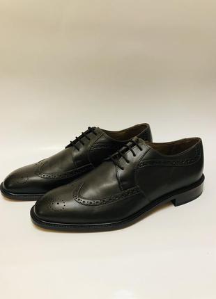 201! мужские кожаные туфли manz (германия).