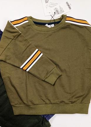 Свитшот кофта на флисе свитер худи name it