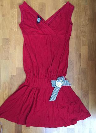 Подростковое модное платье flash italy на 10-13 лет