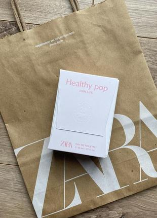 Zara healthy pop