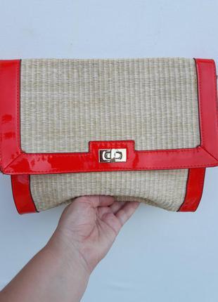 Красивая сумочка-клатч-косметичка