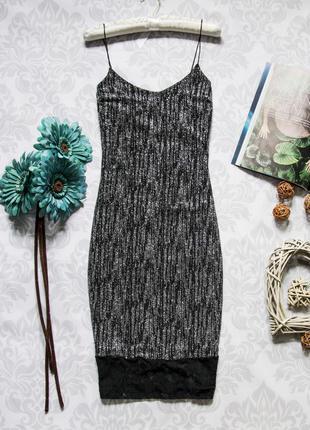 Стильное платье с гипюром river island