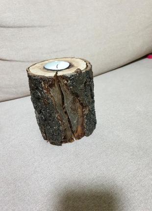 Подсвечник дерево