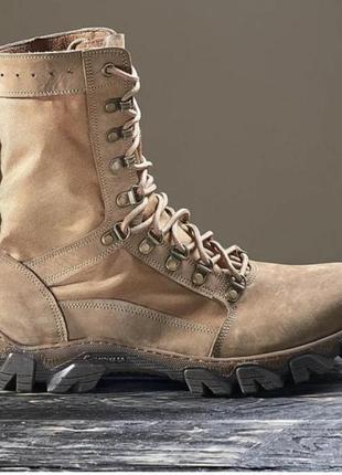 Берци летние ботинки тактические натуральная кожа