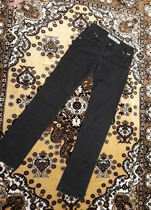 Чорні джинси коттон