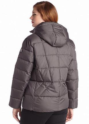 Сalvin klein plus size down coat, пуховик, р. ох. пог 58