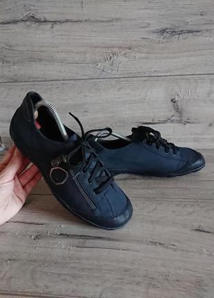Туфли мокасины рикер rieker 41 р 26 см