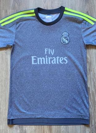 Подростковая спортивная футболка джерси fc real madrid 7 ronaldo