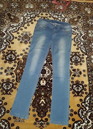 Літні джинси скінні