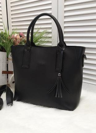 Стильна елегантна сумка з екошкіри