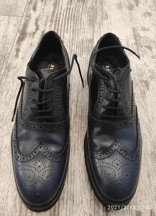Туфли новые с лаковой кожей, rizzolli, италия. стелька 27 см
