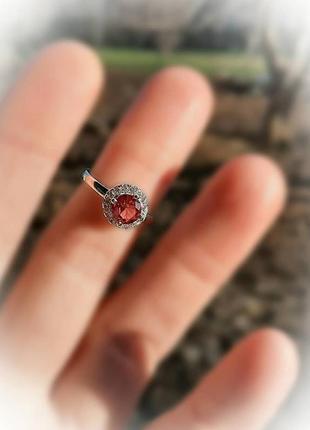 16.5 размер кольцо серебро