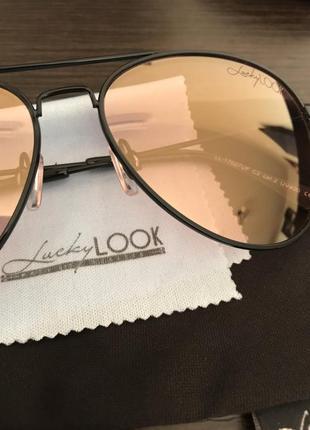 Очки капли(прозрачное стекло)