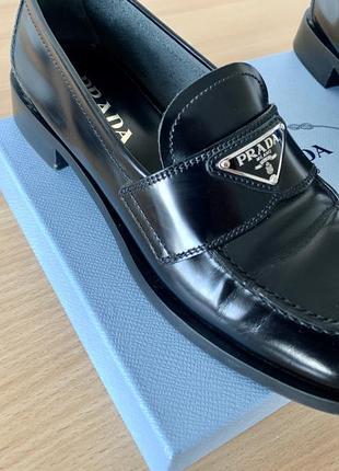 Туфли лоферы prada оригинал