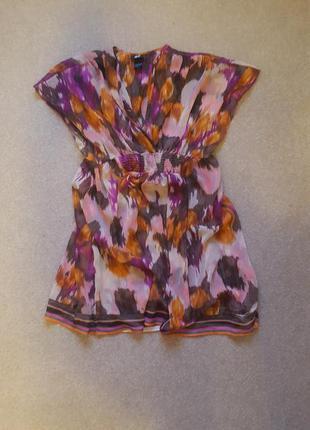 Легкая пляжная туника платье h&m