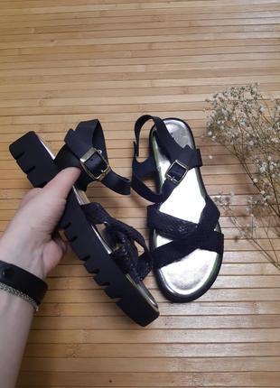 Стильні босоніжки сандалі bellini кожа
