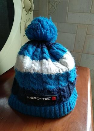 Шапка зима, осень фирмы lego wear.оригинал.4-7лет.52.
