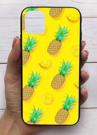 Чехол для iphone 11 pro ананасы