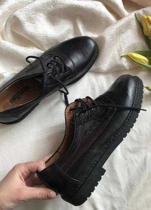 Новые мужские туфли дерби bristol rr 45