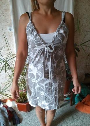 Милый сарафан короткий платье