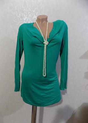 Кофта джемпер пуловер зеленая фирменная street one размер 50