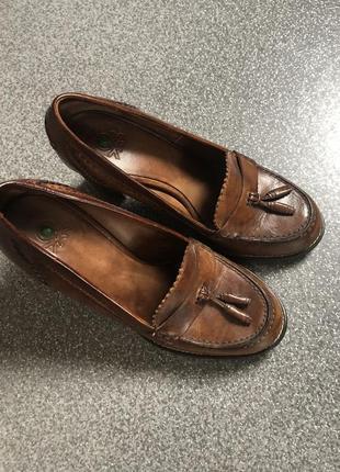 Винтажные туфли benetton