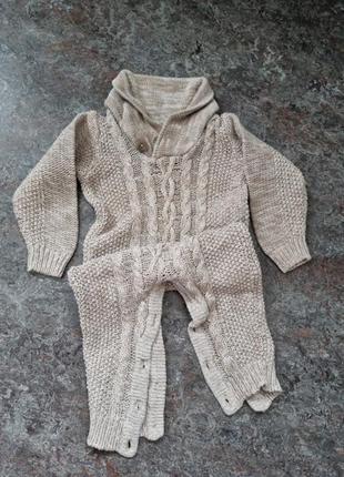Дитяче боді вязане