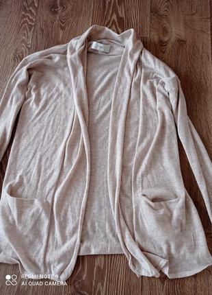 Кардиган,шерсть мериноса,вискоза,легкая и теплая кофточка