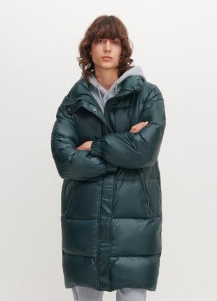 Пуховое пальто, курточка, пуховик oversize reserved