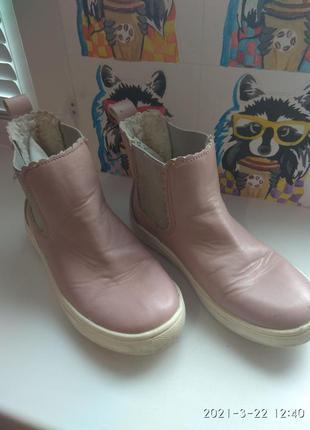 Ботинки на меху h&m размер 31