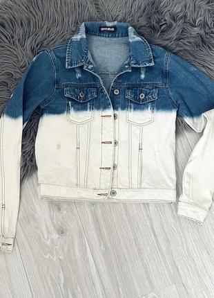Джинсовая куртка джинсова