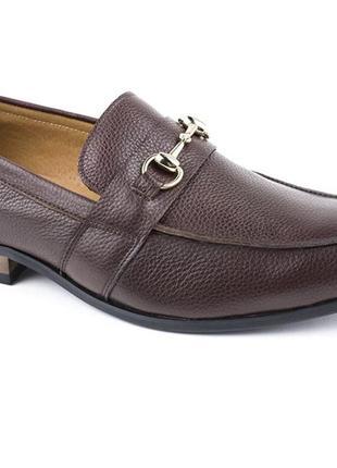 Новые классические туфли лоферы 💯 % кожа р 43
