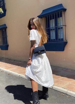Zara платье с вышивкой, s6 фото