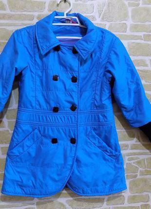 Куртка-ветровка на девочку супер качество на рост 128-134 см